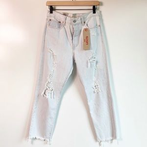 NWT Levi's Wedgie Straight High-Rise Jeans
